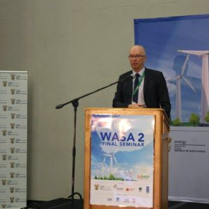 DEPARTMENT OF ENERGY (DoE) TO LAUNCH HIGH-RESOLUTION WIND RESOURCE MAP AT WIND ATLAS FOR SA (WASA) SEMINAR IN EAST LONDON